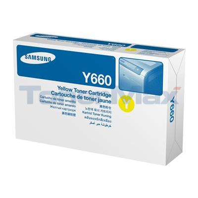 SAMSUNG CLP610ND TONER CARTRIDGE YELLOW 5K